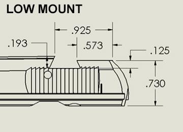 Low Mount Sight (CZC SDP)