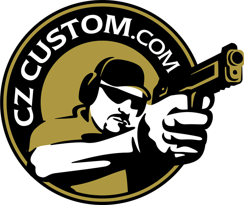 CZ 75 Full Size Grips Aluminum GOLD Grip Tape.